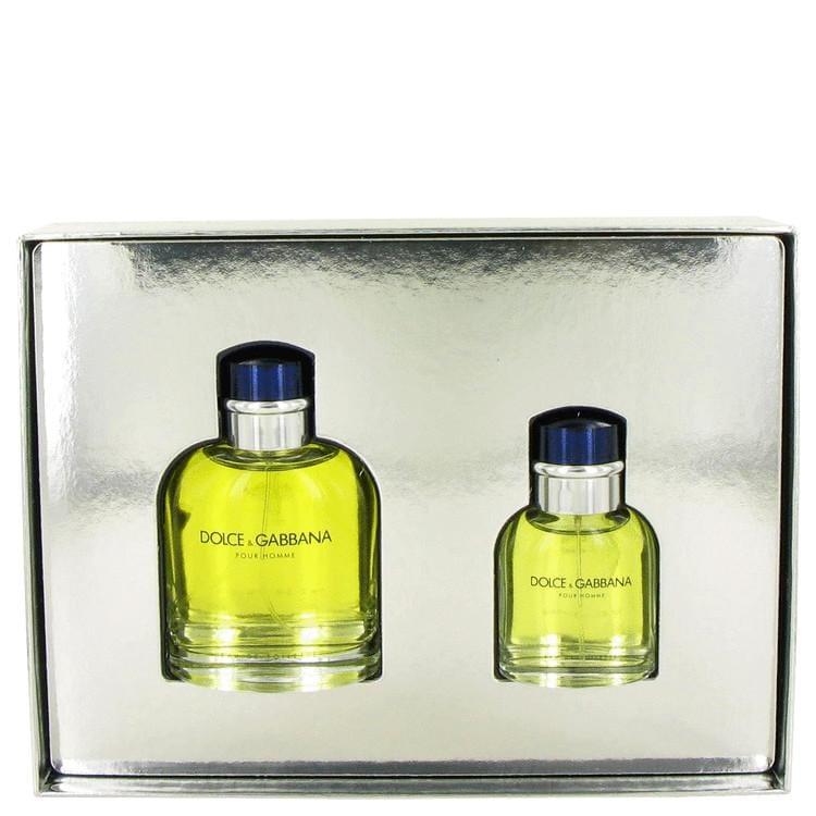 DOLCE & GABBANA by Dolce & Gabbana Gift Set -- 4.2 oz Eau De Toilette Spray + 1.3 oz Eau De Toilette Spray for Men - Oliavery