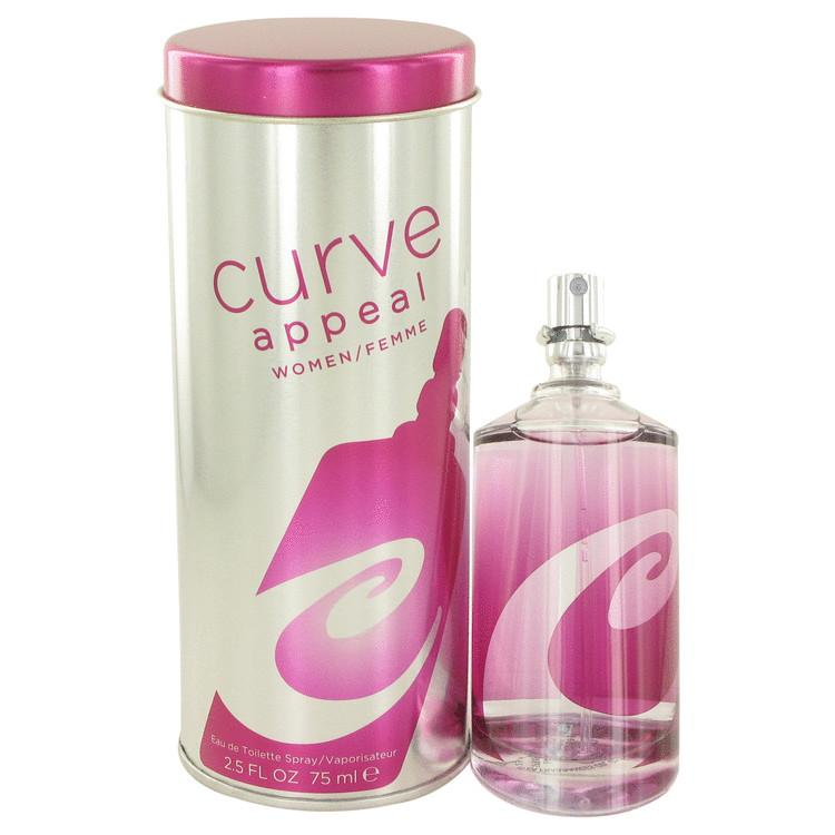 Curve Appeal by Liz Claiborne Eau De Toilette Spray 2.5 oz for Women