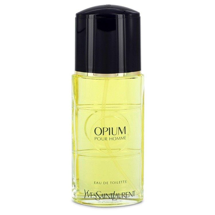 OPIUM by Yves Saint Laurent Eau De Toilette Spray (unboxed) 3.3 oz for Men