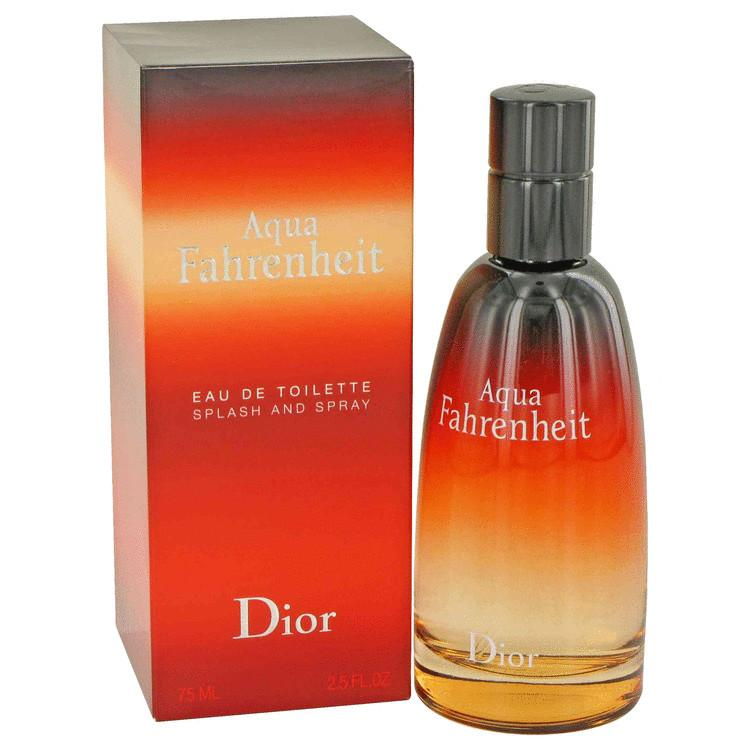 Aqua Fahrenheit by Christian Dior Eau De Toilette Spray 2.5 oz for Men - Oliavery