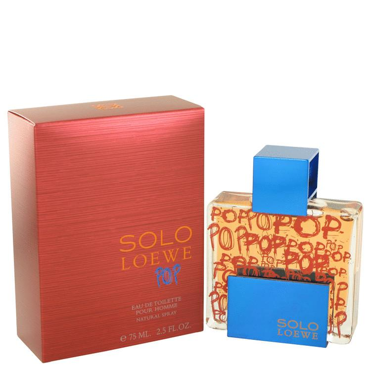 Solo Loewe Pop by Loewe Eau De Toilette Spray for Men - Oliavery