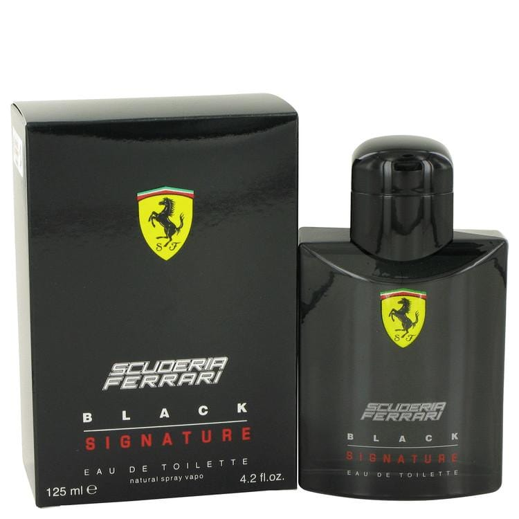 Ferrari Scuderia Black Signature by Ferrari Eau De Toilette Spray for Men - Oliavery