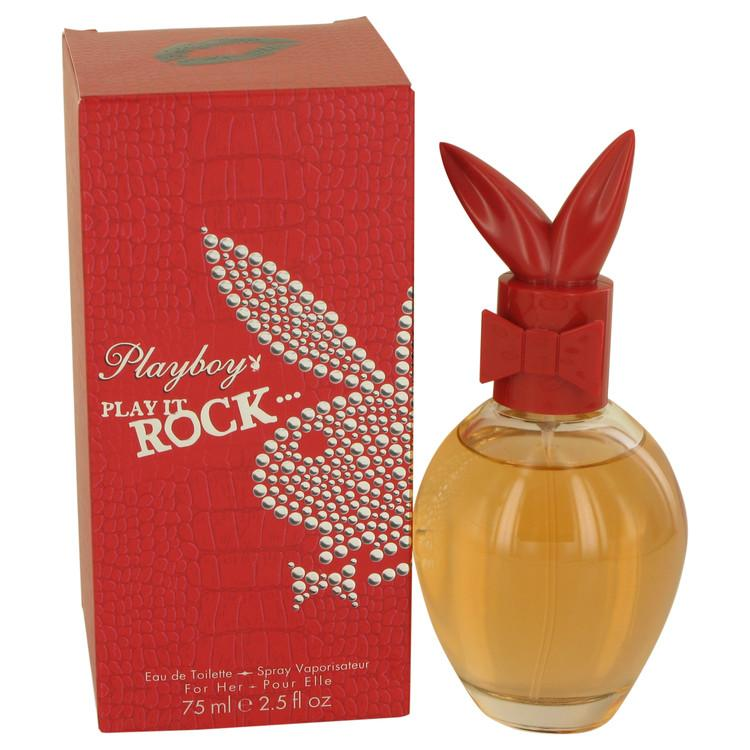 Playboy Play It Rock by Playboy Eau De Toilette Spray 2.5 oz for Women - Oliavery