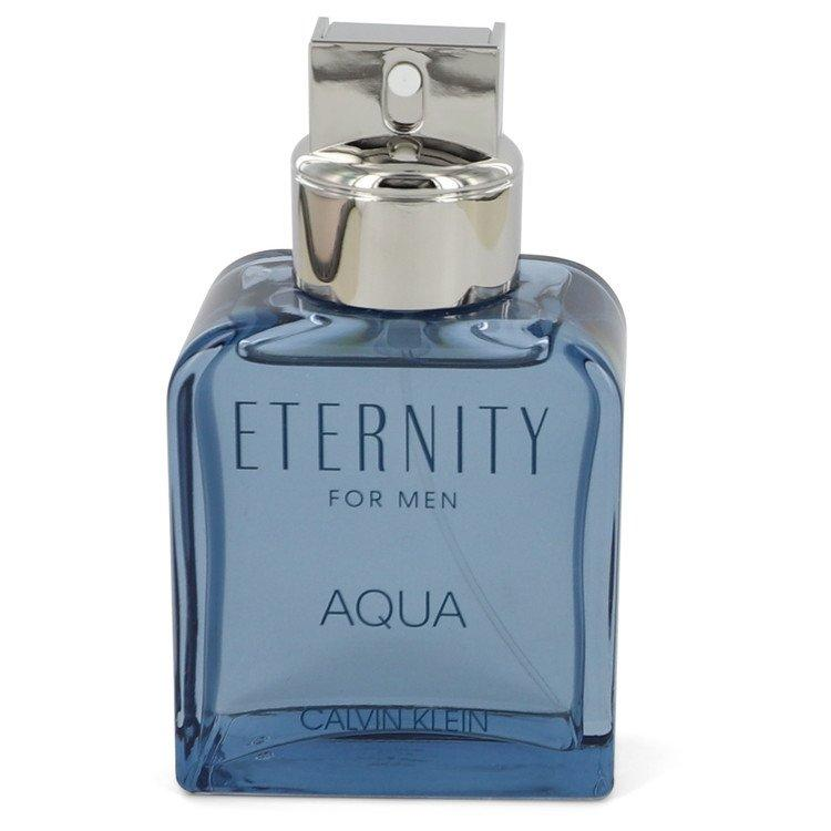 Eternity Aqua by Calvin Klein Eau De Toilette Spray (unboxed) 3.4 oz for Men