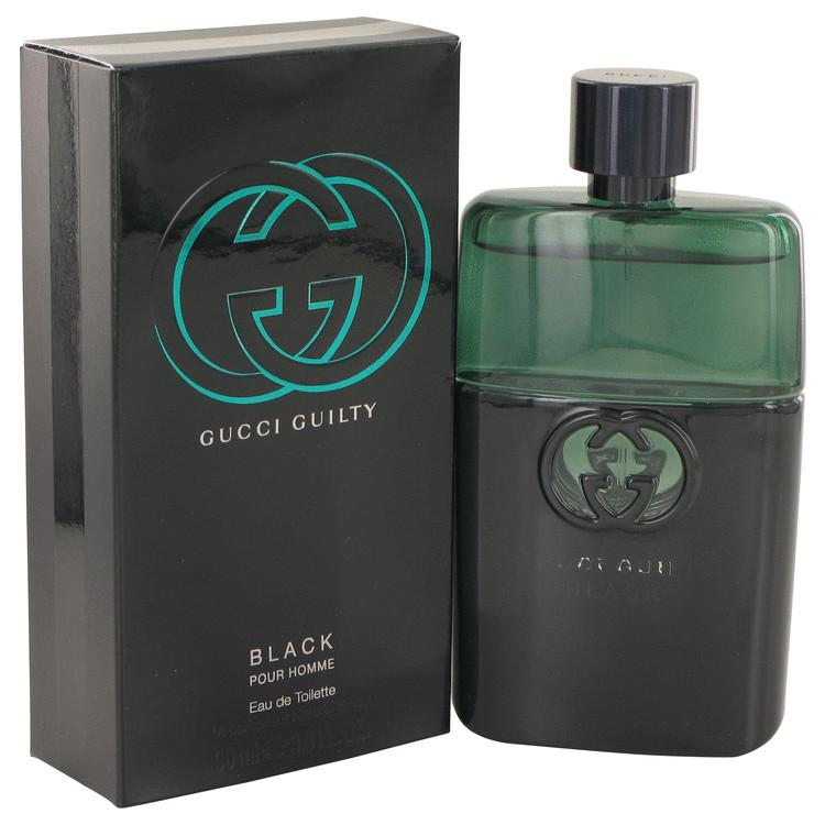 Gucci Guilty Black by Gucci Eau De Toilette Spray for Men - Oliavery