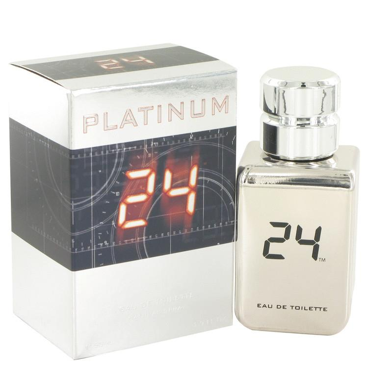 24 Platinum The Fragrance by ScentStory Eau De Toilette Spray for Men - Oliavery
