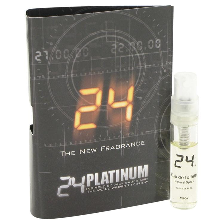 24 Platinum The Fragrance by ScentStory Vial (sample) .05 oz for Men - Oliavery