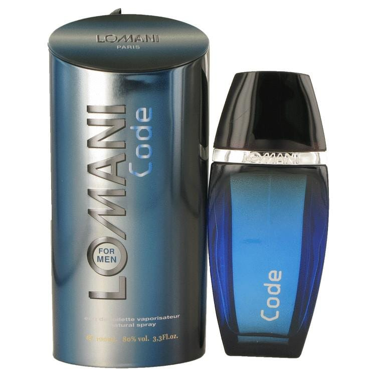 Lomani Code by Lomani Eau De Toilette Spray 3.4 oz for Men - Oliavery