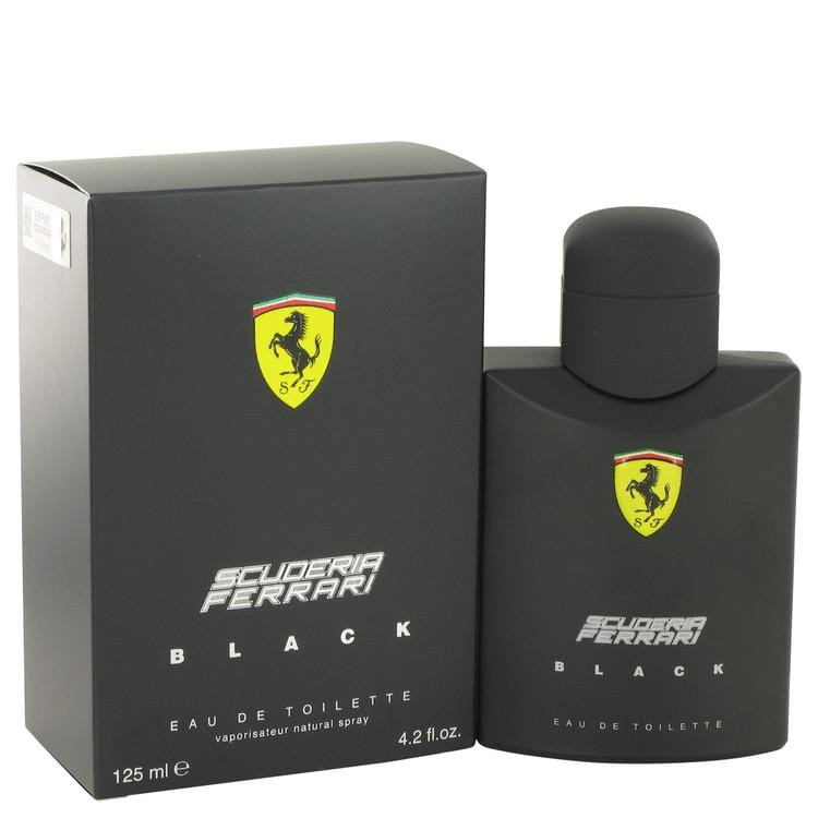 Ferrari Scuderia Black by Ferrari Eau De Toilette Spray for Men - Oliavery