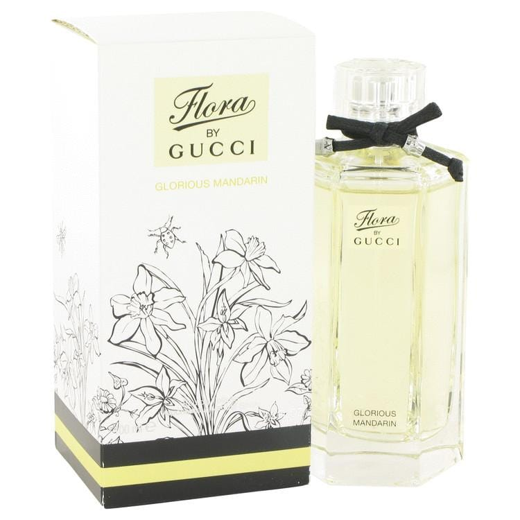 Flora Glorious Mandarin by Gucci Eau De Toilette Spray 3.4 oz for Women - Oliavery