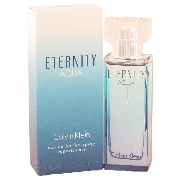 Eternity Aqua by Calvin Klein Eau De Parfum Spray 1 oz for Women - Oliavery