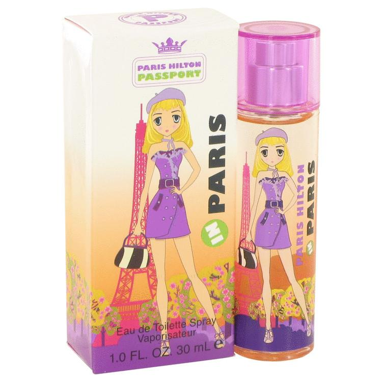 Paris Hilton Passport in Paris by Paris Hilton Eau De Toilette Spray 1 oz for Women - Oliavery