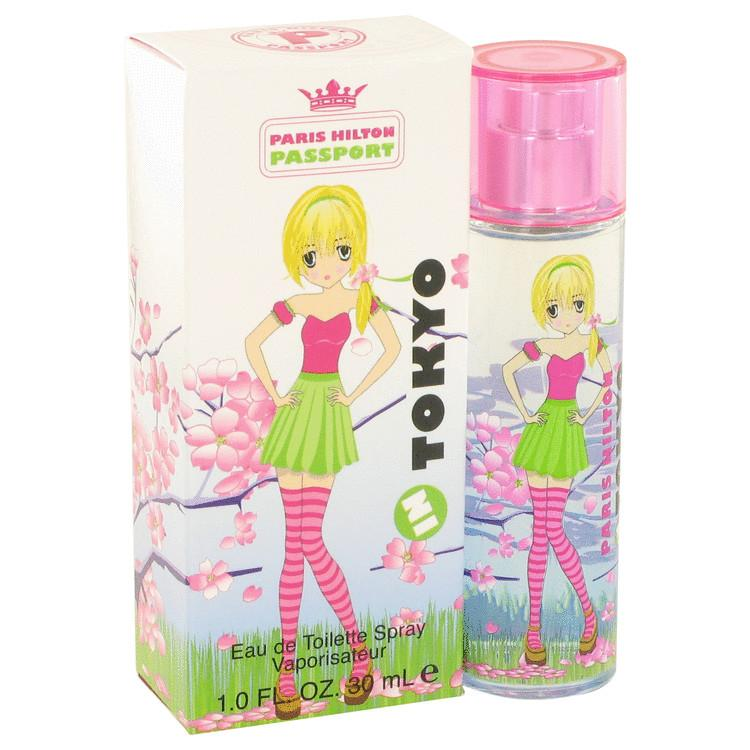 Paris Hilton Passport In Tokyo by Paris Hilton Eau De Toilette Spray for Women - Oliavery