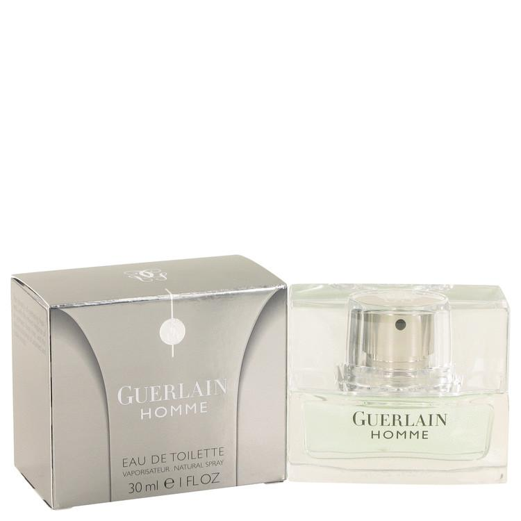 Guerlain Homme by Guerlain Eau De Toilette Spray 1 oz for Men - Oliavery