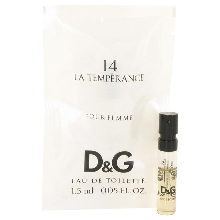 La Temperance 14 by Dolce & Gabbana Vial (Sample) .05 oz for Women - Oliavery