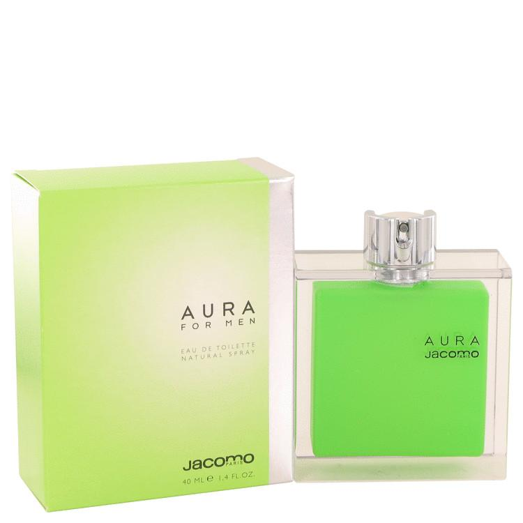 AURA by Jacomo Eau De Toilette Spray 1.4 oz for Men - Oliavery