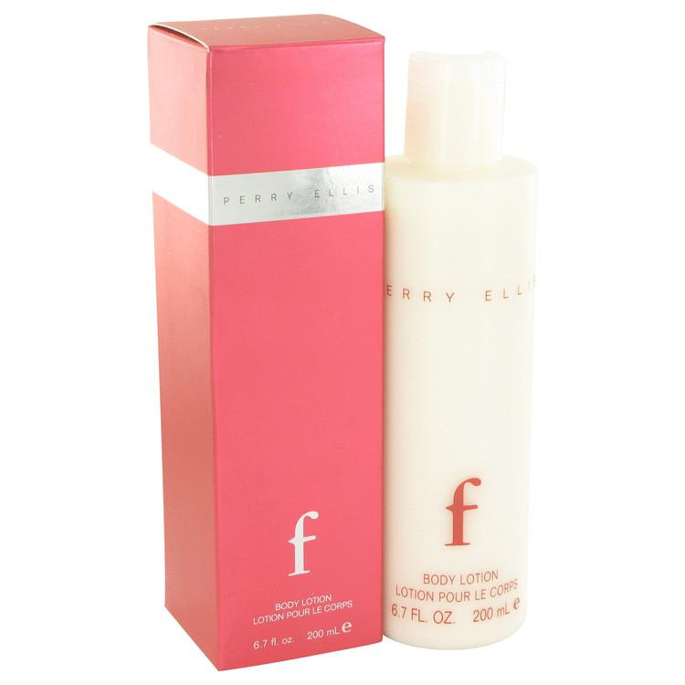 Perry Ellis F by Perry Ellis Body Lotion 6.7 oz for Women - Oliavery