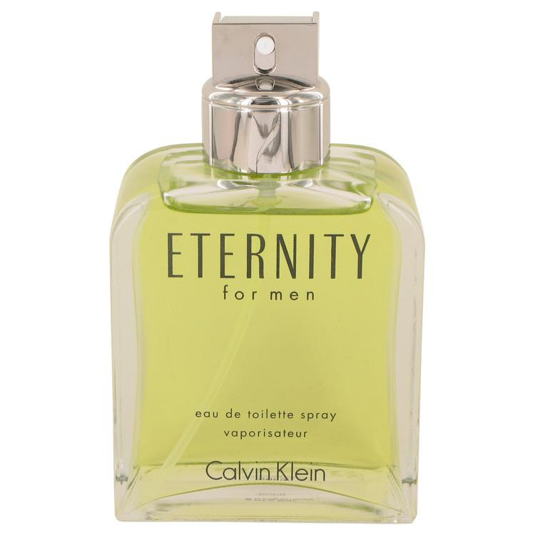 ETERNITY by Calvin Klein Eau De Toilette Spray (unboxed) 6.7 oz for Men - Oliavery