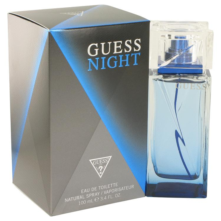 Guess Night by Guess Eau De Toilette Spray 3.4 oz for Men - Oliavery