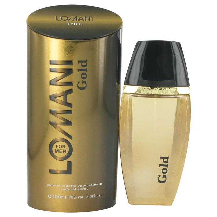 Lomani Gold by Lomani Eau De Toilette Spray 3.3 oz for Men - Oliavery