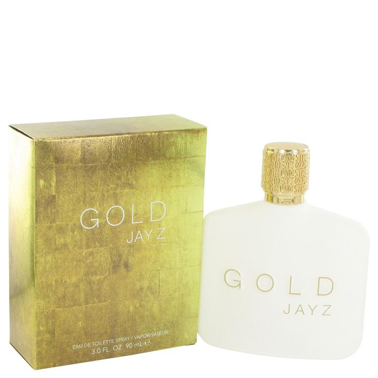 Gold Jay Z by Jay-Z Eau De Toilette Spray 3 oz for Men - Oliavery
