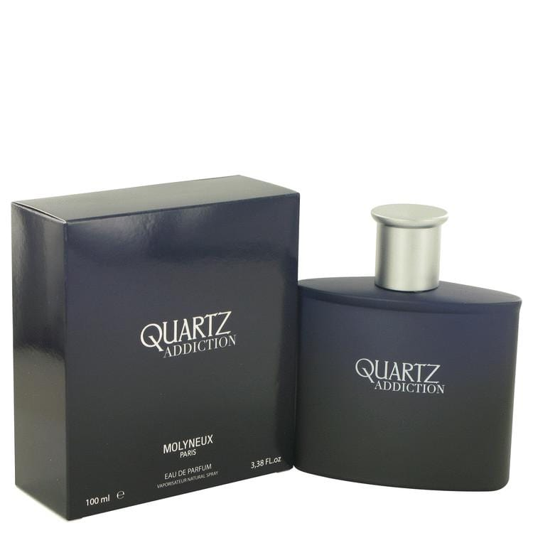 Quartz Addiction by Molyneux Eau De Parfum Spray 3.4 oz for Men - Oliavery