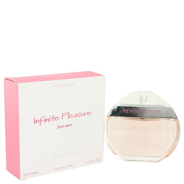 Infinite Pleasure Just Girl by Estelle Vendome Eau De Parfum Spray 3.4 oz for Women - Oliavery