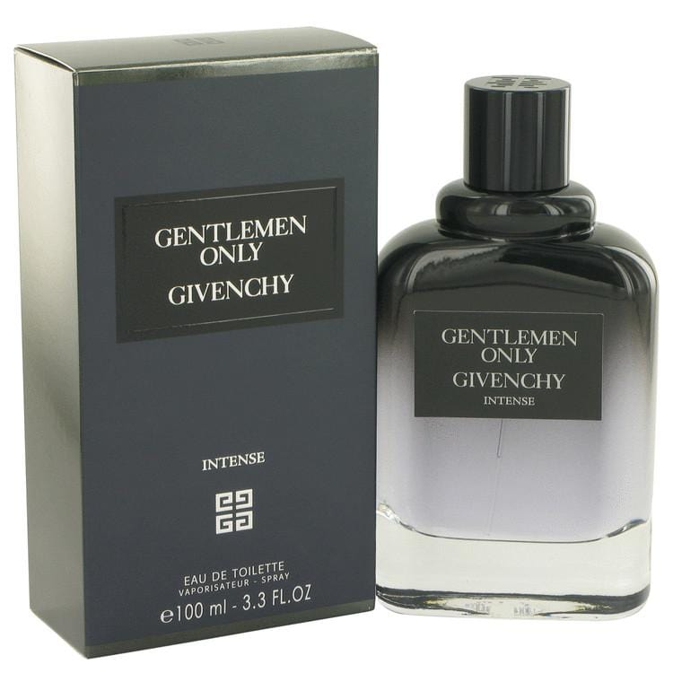 Gentlemen Only Intense by Givenchy Eau De Toilette Spray 3.3 oz for Men