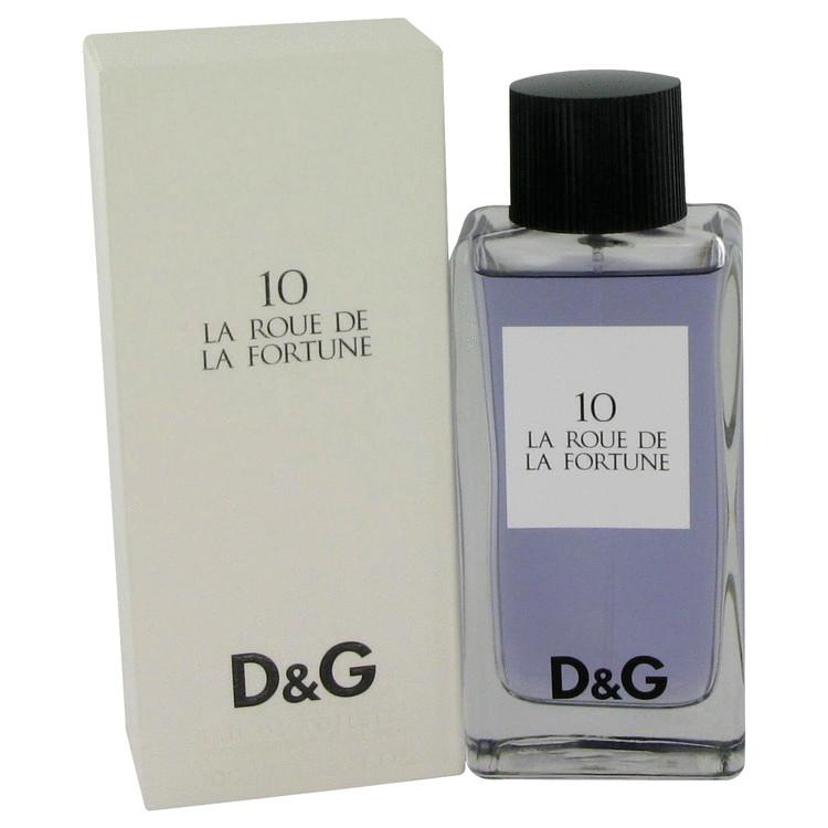 La Roue De La Fortune 10 by Dolce & Gabbana Eau De Toilette Spray 1.7 oz for Women