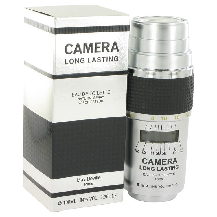 CAMERA LONG LASTING by Max Deville Eau De Toilette Spray 3.4 oz for Men - Oliavery