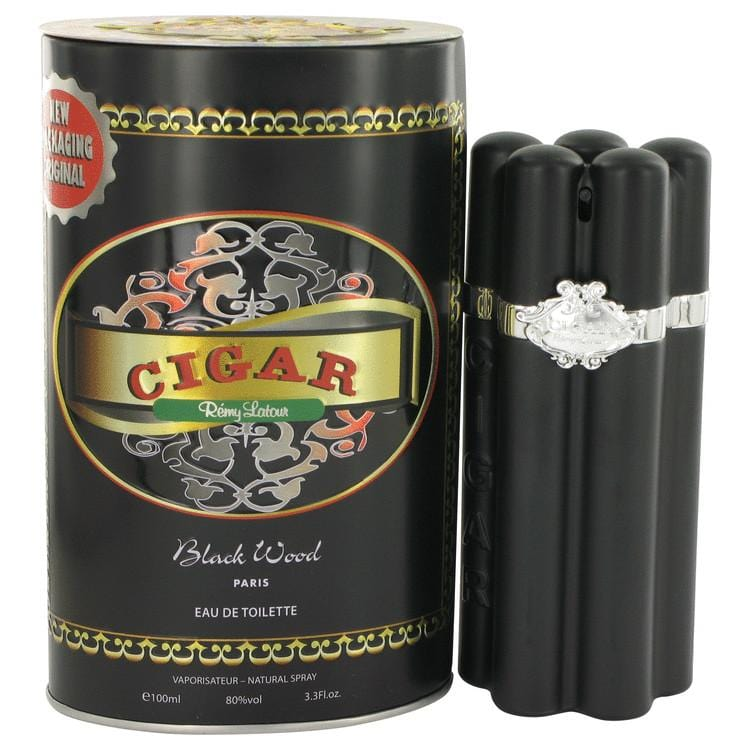 Cigar Black Wood by Remy Latour Eau De Toilette Spray 3.3 oz for Men - Oliavery