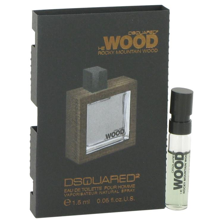 He Wood Rocky Mountain Wood by Dsquared2 Vial (sample) .05 oz for Men - Oliavery