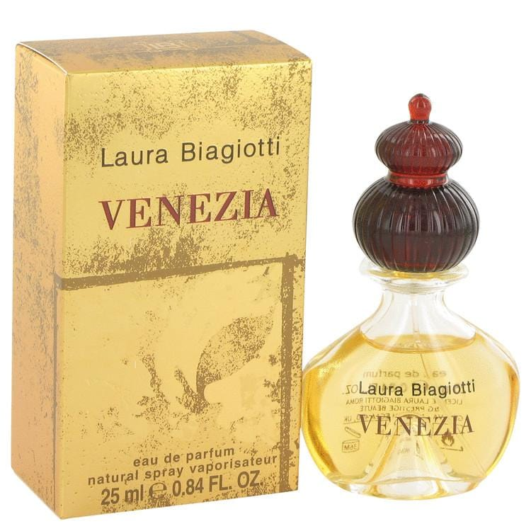 Venezia by Laura Biagiotti Eau De Parfum Spray .85 oz for Women - Oliavery