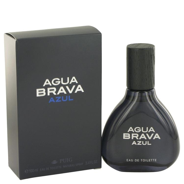 Agua Brava Azul by Antonio Puig Eau De Toilette Spray 3.4 oz for Men - Oliavery