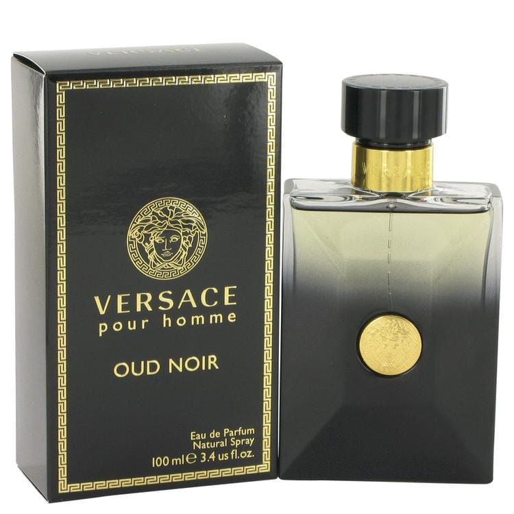 Versace Pour Homme Oud Noir by Versace Eau De Parfum Spray 3.4 oz for Men - Oliavery