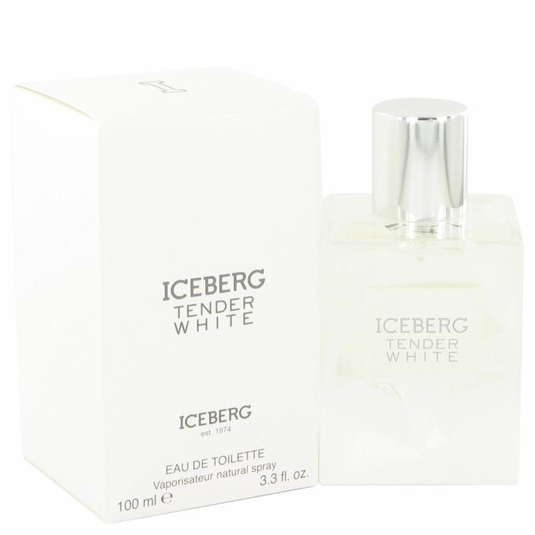 Iceberg Tender White by Iceberg Eau De Toilette Spray 3.3 oz for Women - Oliavery