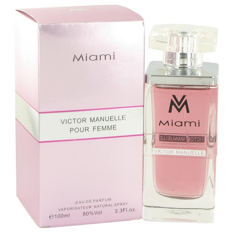 Victor Manuelle Miami by Victor Manuelle Eau De Parfum Spray 3.4 oz for Women - Oliavery