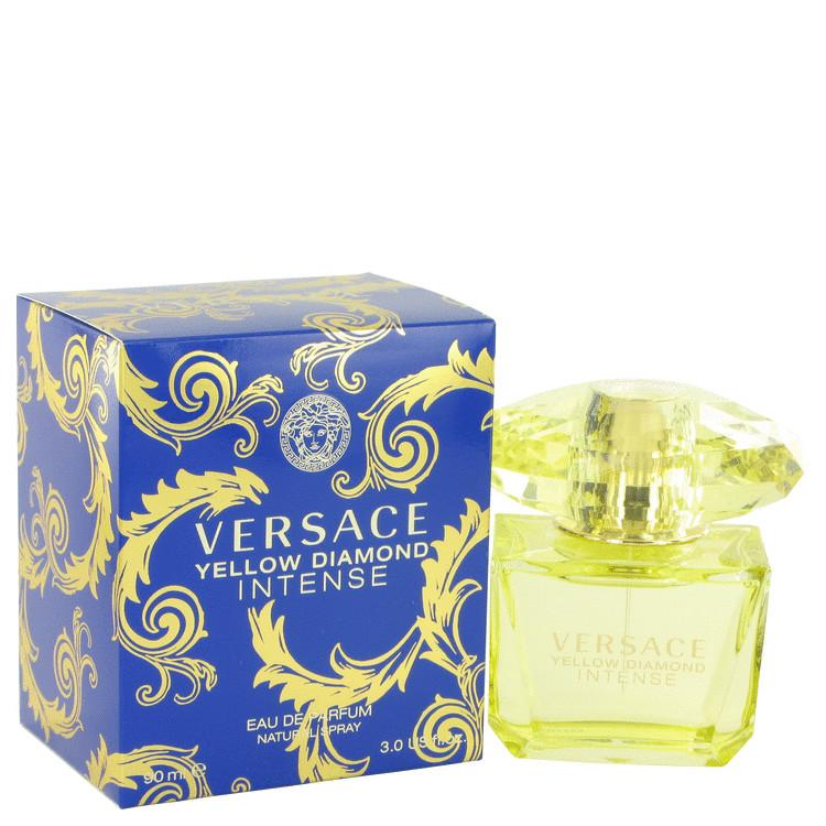 Versace Yellow Diamond Intense by Versace Eau De Parfum Spray 3 oz for Women - Oliavery
