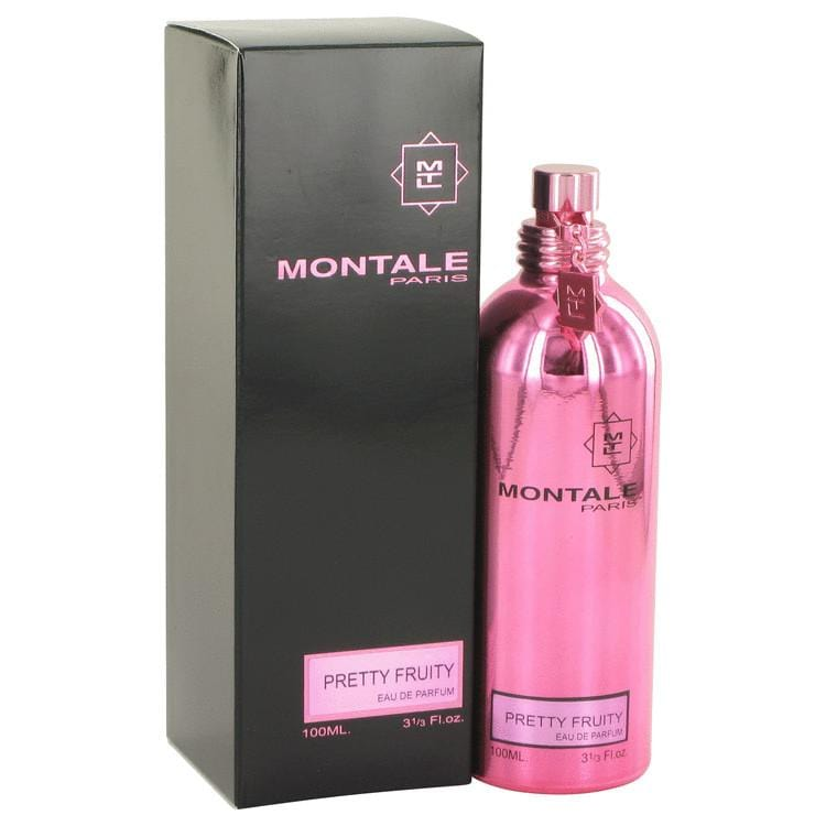 Montale Pretty Fruity by Montale Eau De Parfum Spray (Unisex) 3.4 oz for Women - Oliavery