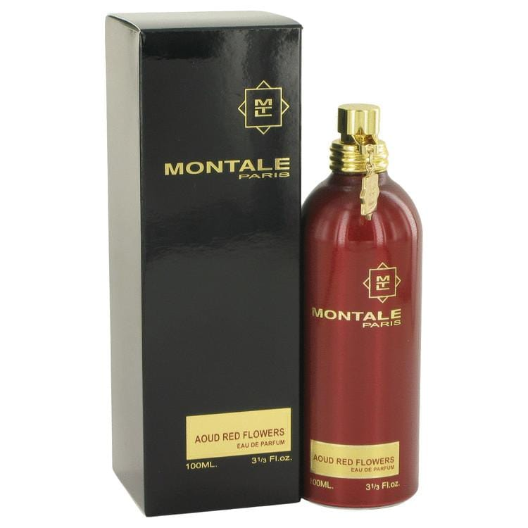 Montale Aoud Red Flowers by Montale Eau De Parfum Spray 3.3 oz for Women - Oliavery
