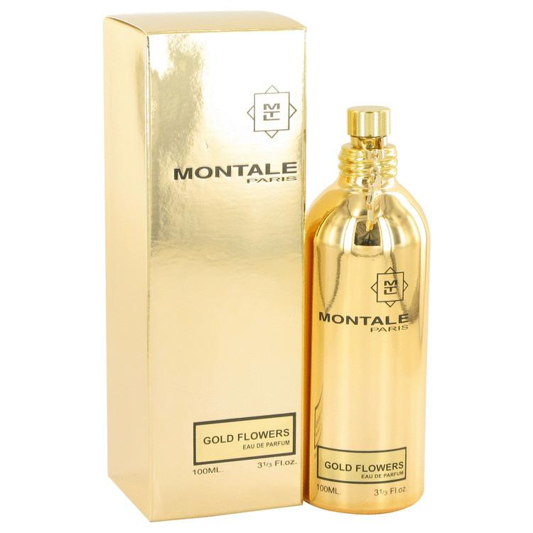 Montale Gold Flowers by Montale Eau De Parfum Spray 3.3 oz for Women - Oliavery