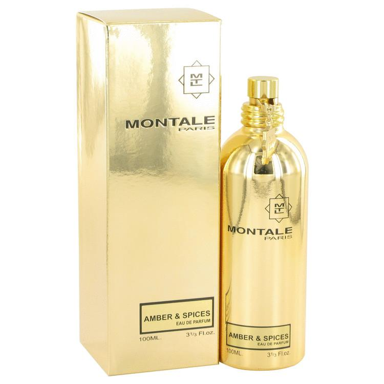 Montale Amber & Spices by Montale Eau De Parfum Spray (Unisex) 3.3 oz for Women - Oliavery