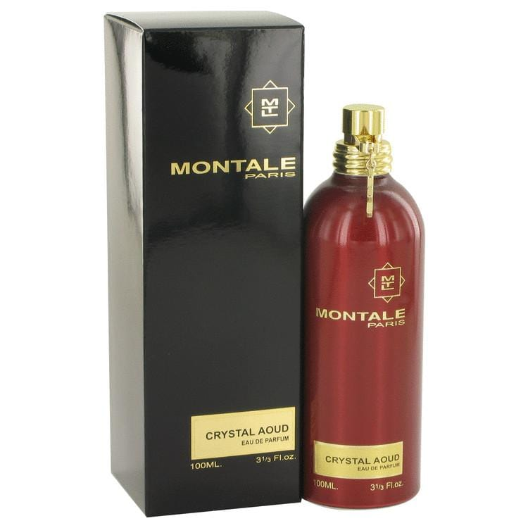 Montale Crystal Aoud by Montale Eau De Parfum Spray 3.3 oz for Women - Oliavery