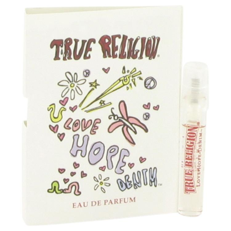 True Religion Love Hope Denim by True Religion Vial (sample) .05 oz for Women - Oliavery