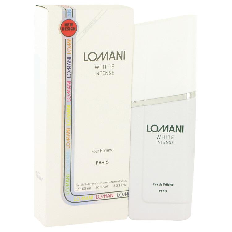 Lomani White Intense by Lomani Eau De Toilette Spray 3.3 oz for Men - Oliavery