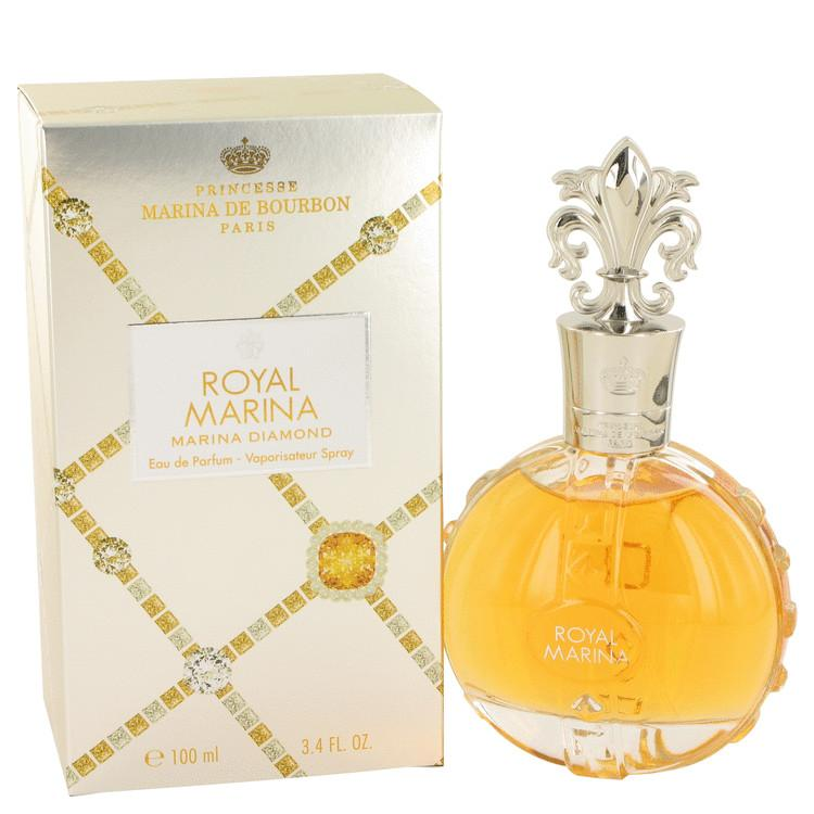 Royal Marina Diamond by Marina De Bourbon Eau De Parfum Spray 3.4 oz for Women - Oliavery