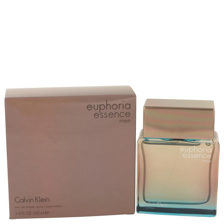 Euphoria Essence by Calvin Klein Eau De Toilette Spray 3.4 oz for Men - Oliavery