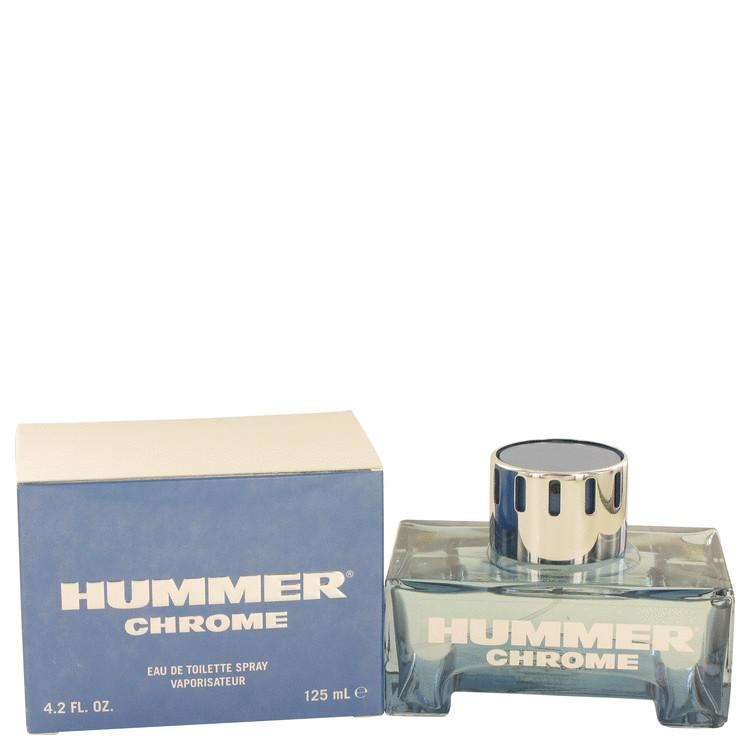 Hummer Chrome by Hummer Eau De Toilette Spray 4.2 oz for Men - Oliavery