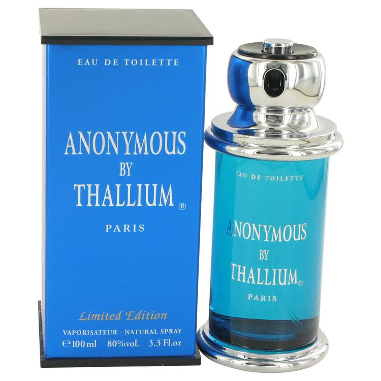 Thallium Anonymous by Yves De Sistelle Eau De Toilette Spray 3.3 oz for Men - Oliavery