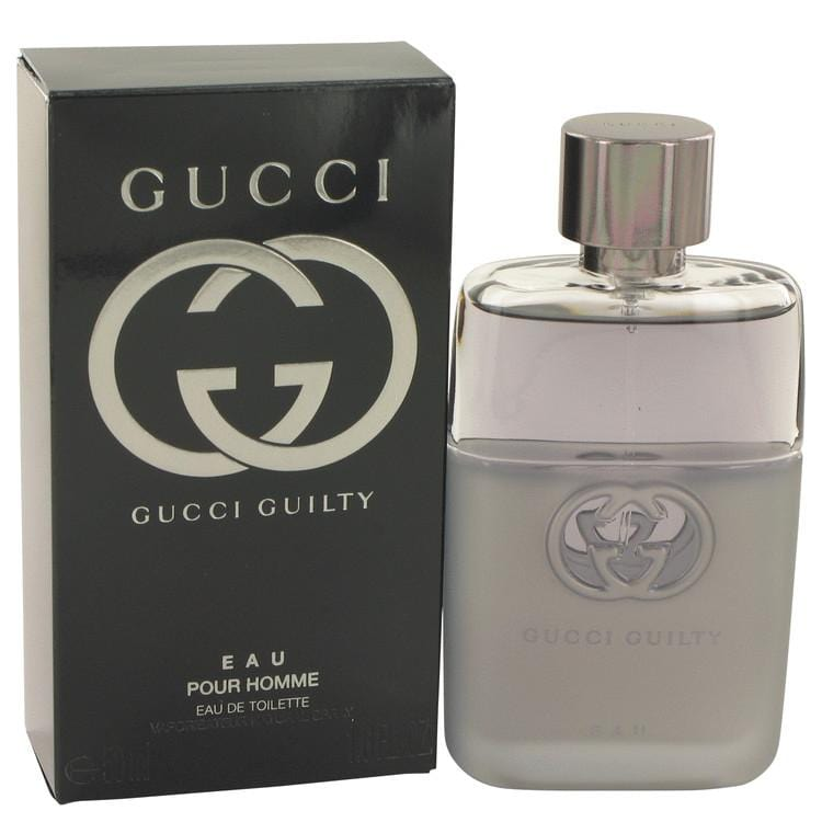 Gucci Guilty Eau by Gucci Eau De Toilette Spray 1.7 oz for Men - Oliavery